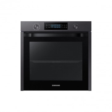 Electric Oven with Dual Cook, 75 Litre Capacity in Blk