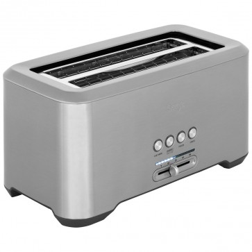 The Bit More Toaster 4 Slice, Stainless Steel