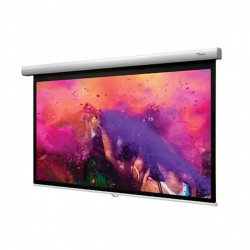 "106"" Diagonal 16:9 Pull Down Projector Screen"