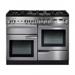 110cm Professional Plus Gas Range Cooker, Stainless