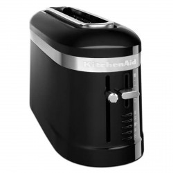 2 Slice Long Slot Toaster, Onyx Black