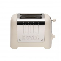 2 Slot Lite Toaster, Canvas White