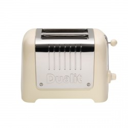 2 Slot Lite Toaster, Cream Gloss