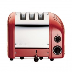 3 Slot Classic Vario AWS Toaster, Red