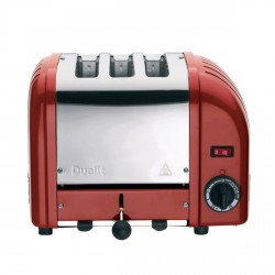 3 Slot Vario Toaster, Red