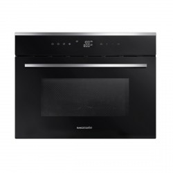 45cm Built-in Microwave Combi Oven, Black/Stainless