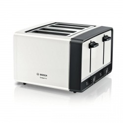 4 Slice Toaster, White
