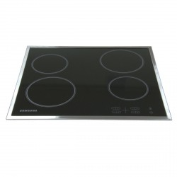 4 Zone Ceramic Hob with Residual Heat indicator