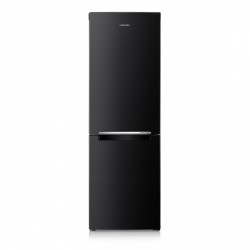 60cm Fridge Freezer, No Frost, Black