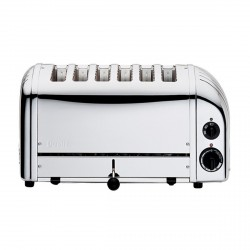 6 Slot Classic Toaster, Polished