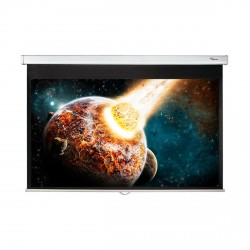 "92"" Diagonal 16:9 Pull Down Projector Screen"