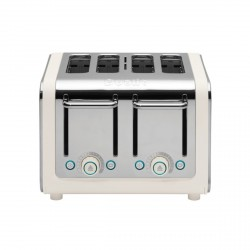 ARCHITECT 4 Slot Toaster, Canvas Body/Stainless Steel