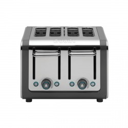 ARCHITECT 4 Slot Toaster, Grey/Stainless Steel