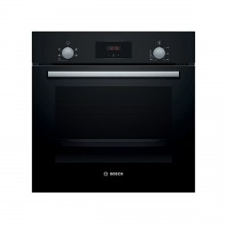 A Rated 60cm Built-in Single oven in Black