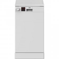 A++ Rated Slimline Dishwasher in White