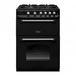 Classic 60cm Dual Fuel Freestanding Cooker, Black