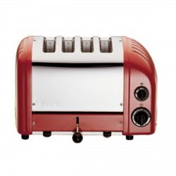 Classic Vario AWS 4 Slot Toaster, Red