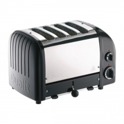 Combi 2x2 Toaster, Matt Black