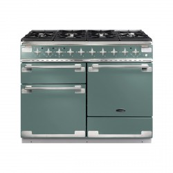 Elise 110 Dual Fuel Cooker, Mineral Green