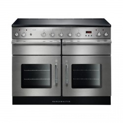 Esprit 110 Induction Range Cooker, Stainless/Chrome