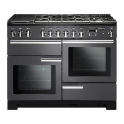 PROFESSIONAL DELUXE 110cm Dual Fuel Cooker, Slate