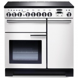 PROFESSIONAL DELUXE 90cm Induction Range Cooker, White