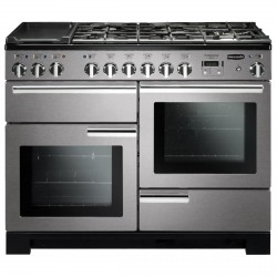 PROFESSIONAL PLUS 110cm Dual Fual Cooker, Stainless