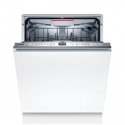 Serie 6 60cm Fully-integrated dishwasher, White