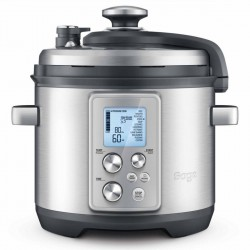 The Fast Slow Pro Cooker, Brushed Metal