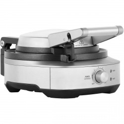 The No-mess Waffle, Stainless Steel