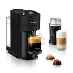 Vertuo Next Nespresso Machine + Aeroccino3, Matte Black
