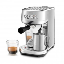 the Bambino Plus Coffee Maker, Stainless Steel
